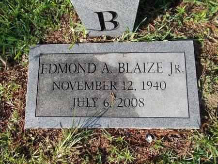 BLAIZE, EDMOND A., JR - Hancock County, Mississippi | EDMOND A., JR BLAIZE - Mississippi Gravestone Photos