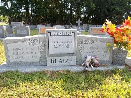 BLAIZE, GLENN HENDERSON - Hancock County, Mississippi | GLENN HENDERSON BLAIZE - Mississippi Gravestone Photos
