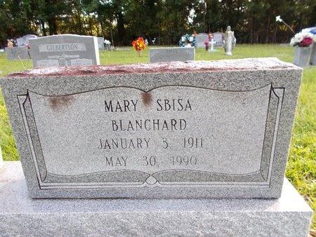 SBISA BLANCHARD, MARY - Hancock County, Mississippi | MARY SBISA BLANCHARD - Mississippi Gravestone Photos