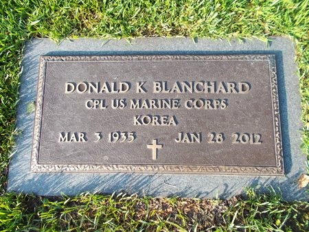 BLANCHARD (VETERAN KOR), DONALD K (NEW) - Hancock County, Mississippi | DONALD K (NEW) BLANCHARD (VETERAN KOR) - Mississippi Gravestone Photos