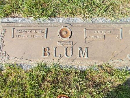 BLUM, BERNARD S., SR - Hancock County, Mississippi | BERNARD S., SR BLUM - Mississippi Gravestone Photos