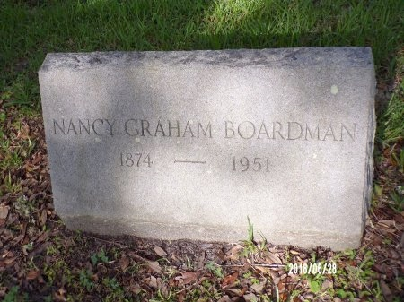 GRAHAM BOARDMAN, NANCY - Hancock County, Mississippi | NANCY GRAHAM BOARDMAN - Mississippi Gravestone Photos