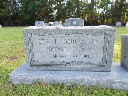 BOUNDS, OTIS L., SR - Hancock County, Mississippi | OTIS L., SR BOUNDS - Mississippi Gravestone Photos
