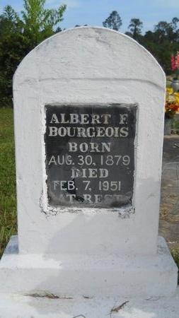 BOURGEOIS, ALBERT F - Hancock County, Mississippi | ALBERT F BOURGEOIS - Mississippi Gravestone Photos