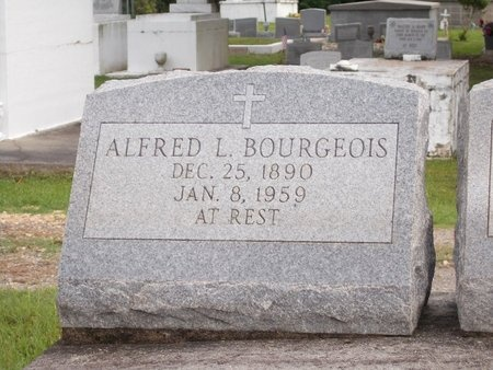 BOURGEOIS, ALFRED L - Hancock County, Mississippi | ALFRED L BOURGEOIS - Mississippi Gravestone Photos