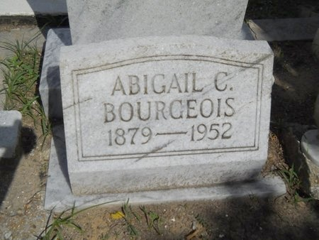BOURGEOIS, ABIGAIL - Hancock County, Mississippi | ABIGAIL BOURGEOIS - Mississippi Gravestone Photos