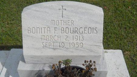 BOURGEOIS, BONITA F - Hancock County, Mississippi | BONITA F BOURGEOIS - Mississippi Gravestone Photos