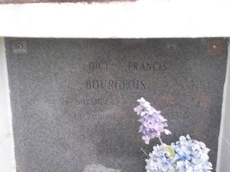 BOURGEOIS, BENEDICT FRANCIS - Hancock County, Mississippi | BENEDICT FRANCIS BOURGEOIS - Mississippi Gravestone Photos