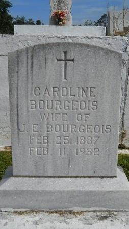 BOURGEOIS, CAROLINE - Hancock County, Mississippi | CAROLINE BOURGEOIS - Mississippi Gravestone Photos