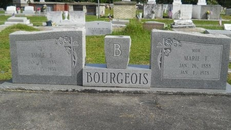 BOURGEOIS, MARIE T - Hancock County, Mississippi | MARIE T BOURGEOIS - Mississippi Gravestone Photos