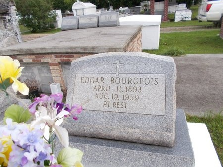 BOURGEOIS, EDGAR - Hancock County, Mississippi | EDGAR BOURGEOIS - Mississippi Gravestone Photos
