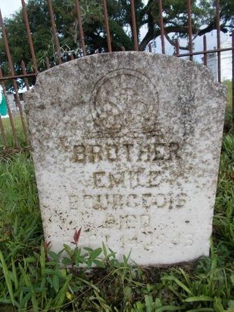 BOURGEOIS, EMILE - Hancock County, Mississippi   EMILE BOURGEOIS - Mississippi Gravestone Photos