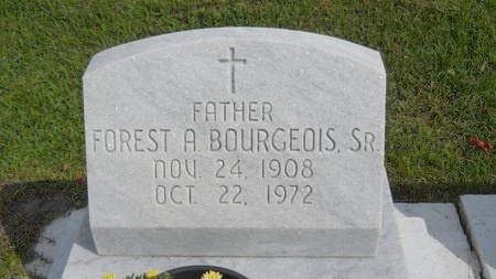 BOURGEOIS, FOREST A, SR - Hancock County, Mississippi | FOREST A, SR BOURGEOIS - Mississippi Gravestone Photos