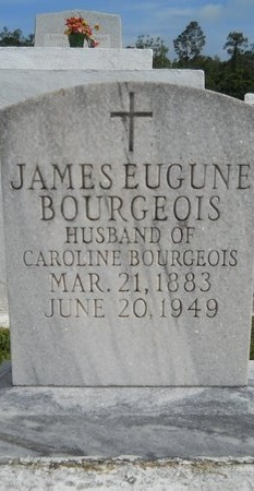 BOURGEOIS, JAMES EUGUNE - Hancock County, Mississippi | JAMES EUGUNE BOURGEOIS - Mississippi Gravestone Photos