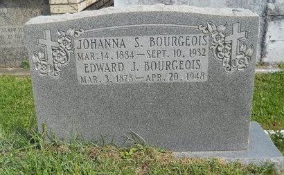 BOURGEOIS, JOHANNA - Hancock County, Mississippi | JOHANNA BOURGEOIS - Mississippi Gravestone Photos