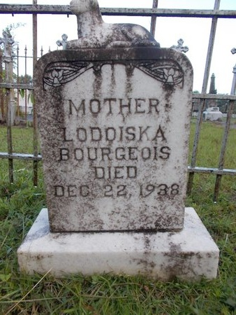 BOURGEOIS, LODOISKA - Hancock County, Mississippi | LODOISKA BOURGEOIS - Mississippi Gravestone Photos