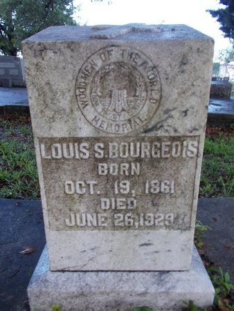 BOURGEOIS, LOUIS S - Hancock County, Mississippi | LOUIS S BOURGEOIS - Mississippi Gravestone Photos