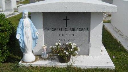 BOURGEOIS, MARGARET G - Hancock County, Mississippi | MARGARET G BOURGEOIS - Mississippi Gravestone Photos