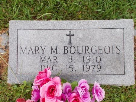 BOURGEOIS, MARY M - Hancock County, Mississippi | MARY M BOURGEOIS - Mississippi Gravestone Photos