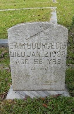 BOURGEOIS, SAM - Hancock County, Mississippi   SAM BOURGEOIS - Mississippi Gravestone Photos