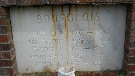 BOURGEOIS, WOODROW R - Hancock County, Mississippi | WOODROW R BOURGEOIS - Mississippi Gravestone Photos
