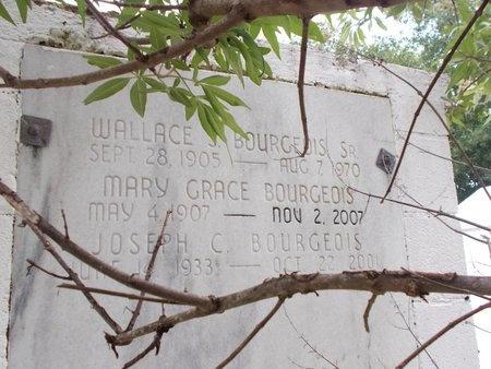 BOURGEOIS, WALLACE J., SR - Hancock County, Mississippi | WALLACE J., SR BOURGEOIS - Mississippi Gravestone Photos