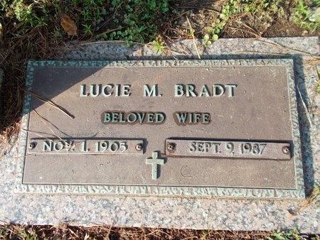 BRADT, LUCIE M - Hancock County, Mississippi | LUCIE M BRADT - Mississippi Gravestone Photos