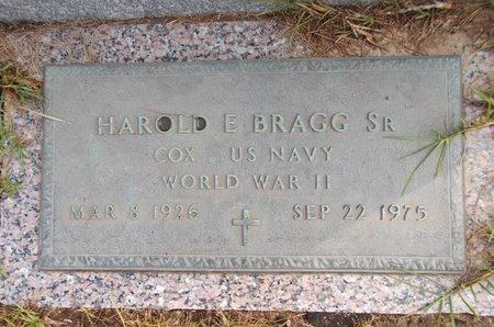 BRAGG (VETERAN WWII), HAROLD E., SR (NEW) - Hancock County, Mississippi | HAROLD E., SR (NEW) BRAGG (VETERAN WWII) - Mississippi Gravestone Photos