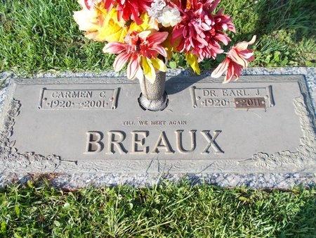 BREAUX, EARL J., DR - Hancock County, Mississippi | EARL J., DR BREAUX - Mississippi Gravestone Photos