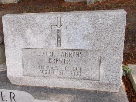 AHRENS BREWER, ELVIRE - Hancock County, Mississippi   ELVIRE AHRENS BREWER - Mississippi Gravestone Photos