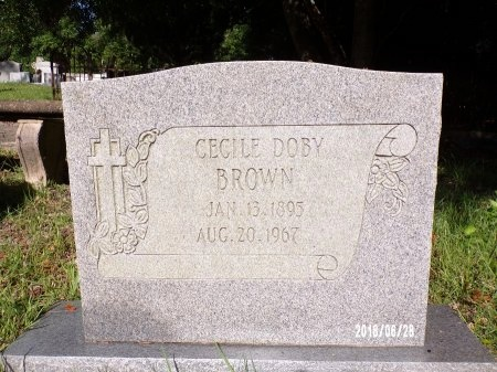 BROWN, CECILE - Hancock County, Mississippi | CECILE BROWN - Mississippi Gravestone Photos