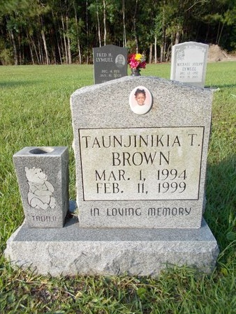 BROWN, TAUNJINIKIA T - Hancock County, Mississippi | TAUNJINIKIA T BROWN - Mississippi Gravestone Photos