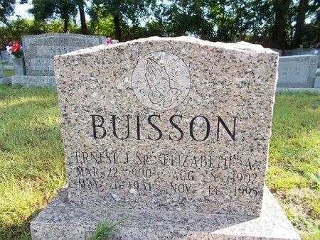 BUISSON, ELIZABETH A - Hancock County, Mississippi | ELIZABETH A BUISSON - Mississippi Gravestone Photos