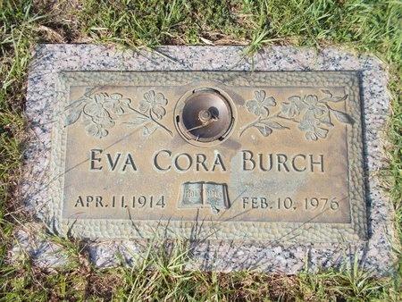 BURCH, EVA CORA - Hancock County, Mississippi | EVA CORA BURCH - Mississippi Gravestone Photos