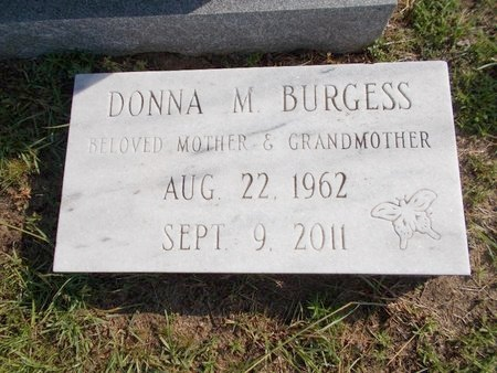 BURGESS, DONNA M - Hancock County, Mississippi   DONNA M BURGESS - Mississippi Gravestone Photos