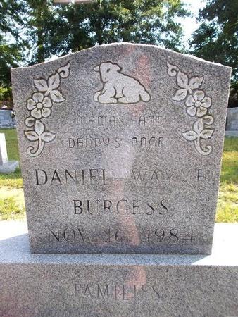 BURGESS, DANIEL WAYNE - Hancock County, Mississippi | DANIEL WAYNE BURGESS - Mississippi Gravestone Photos