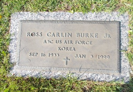 BURKE (VETERAN KOR), ROSS CARLIN, JR (NEW) - Hancock County, Mississippi | ROSS CARLIN, JR (NEW) BURKE (VETERAN KOR) - Mississippi Gravestone Photos