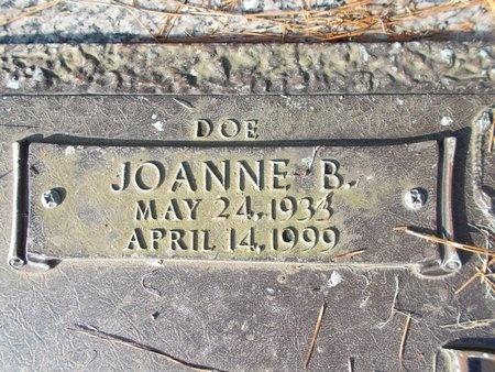 BURNS, JOANNE B (CLOSE UP) - Hancock County, Mississippi   JOANNE B (CLOSE UP) BURNS - Mississippi Gravestone Photos
