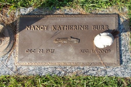 BURR, NANCY KATHERINE - Hancock County, Mississippi | NANCY KATHERINE BURR - Mississippi Gravestone Photos