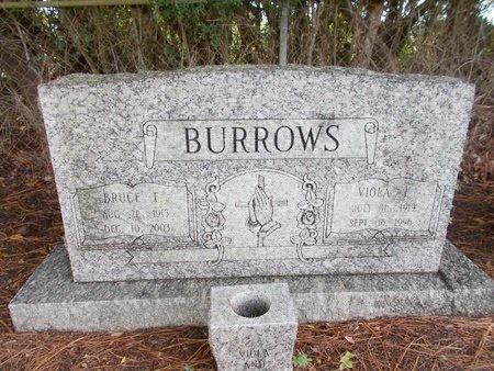 BURROWS, VIOLA L - Hancock County, Mississippi | VIOLA L BURROWS - Mississippi Gravestone Photos