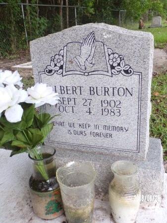 BURTON, ALBERT - Hancock County, Mississippi | ALBERT BURTON - Mississippi Gravestone Photos
