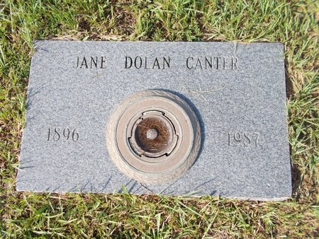 CANTER, JANE - Hancock County, Mississippi | JANE CANTER - Mississippi Gravestone Photos