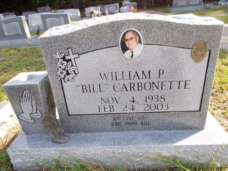 "CARBONETTE, WILLIAM P ""BILL"" - Hancock County, Mississippi 