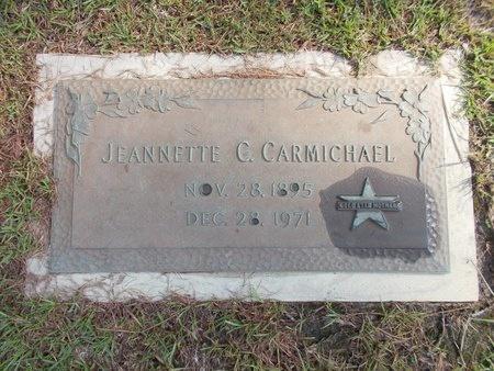 CARMICHAEL, JEANNETTE C - Hancock County, Mississippi | JEANNETTE C CARMICHAEL - Mississippi Gravestone Photos
