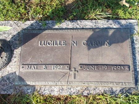 CARVIN, LUCILLE N - Hancock County, Mississippi | LUCILLE N CARVIN - Mississippi Gravestone Photos