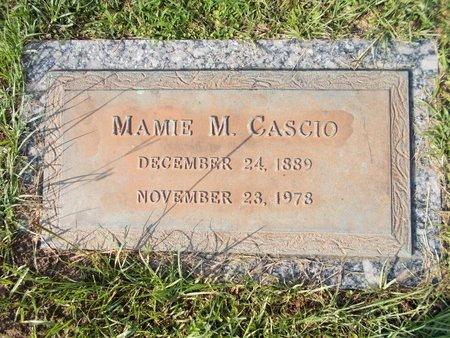 CASCIO, MAMIE M - Hancock County, Mississippi | MAMIE M CASCIO - Mississippi Gravestone Photos