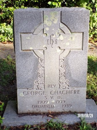 CHACHERE, REV, GEORGE - Hancock County, Mississippi | GEORGE CHACHERE, REV - Mississippi Gravestone Photos