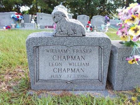 CHAPMAN, LEON WILLIAM - Hancock County, Mississippi | LEON WILLIAM CHAPMAN - Mississippi Gravestone Photos