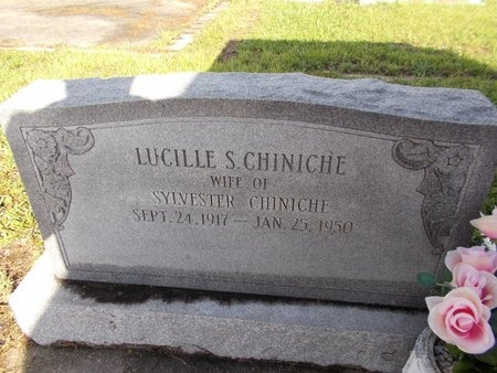 CHINICHE, LUCILLE - Hancock County, Mississippi   LUCILLE CHINICHE - Mississippi Gravestone Photos