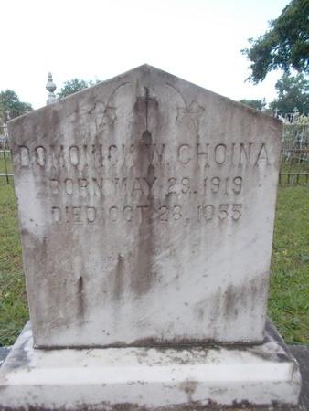 CHOINA, DOMONICK W - Hancock County, Mississippi | DOMONICK W CHOINA - Mississippi Gravestone Photos